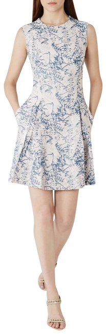 Preload https://img-static.tradesy.com/item/25931978/reiss-blue-and-white-clemens-mid-length-short-casual-dress-size-4-s-0-1-650-650.jpg