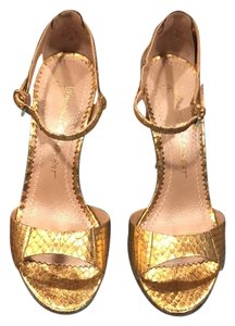 Jean-Michel Cazabat metallic gold Formal