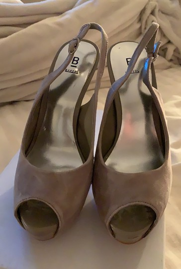 Bakers Taupe Platforms Image 1