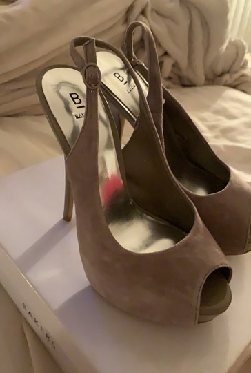 Bakers Taupe Platforms Image 2