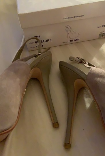 Bakers Taupe Platforms Image 3