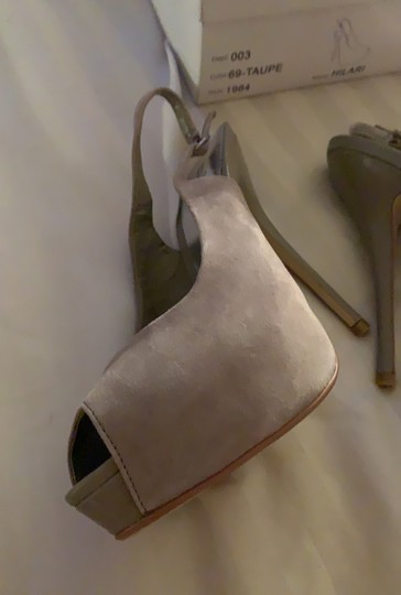 Bakers Taupe Platforms Image 4