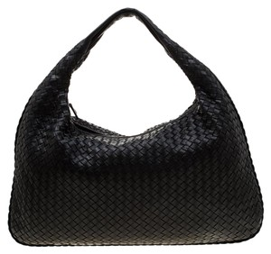 Bottega Veneta Leather Suede Hobo Bag