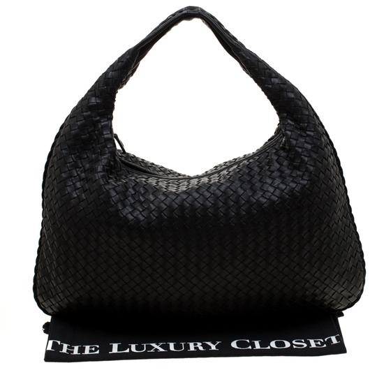 Bottega Veneta Leather Suede Hobo Bag Image 11