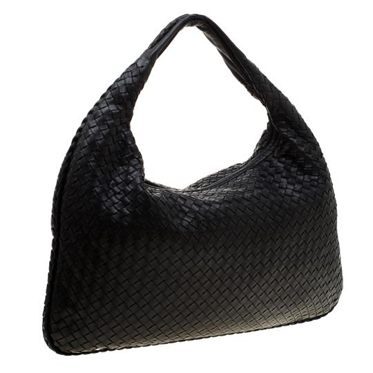 Bottega Veneta Leather Suede Hobo Bag Image 3