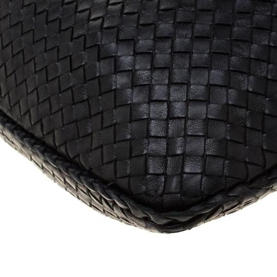 Bottega Veneta Leather Suede Hobo Bag Image 8