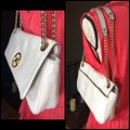 MICHAEL Michael Kors SLIGHTLY OFF WHITE/GOLD Messenger Bag Image 2
