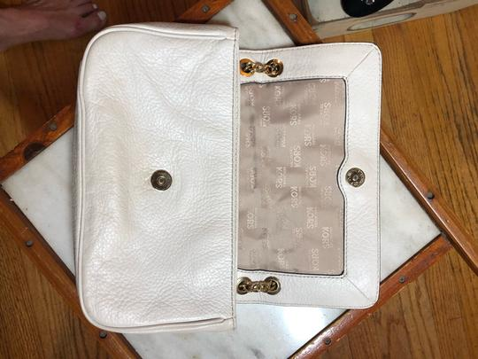 MICHAEL Michael Kors SLIGHTLY OFF WHITE/GOLD Messenger Bag Image 8