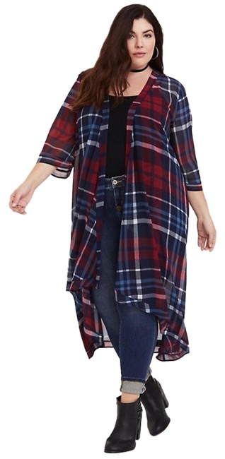 Preload https://img-static.tradesy.com/item/25932012/torrid-bluered-kimono-plaid-cardigan-size-16-xl-plus-0x-0-1-650-650.jpg