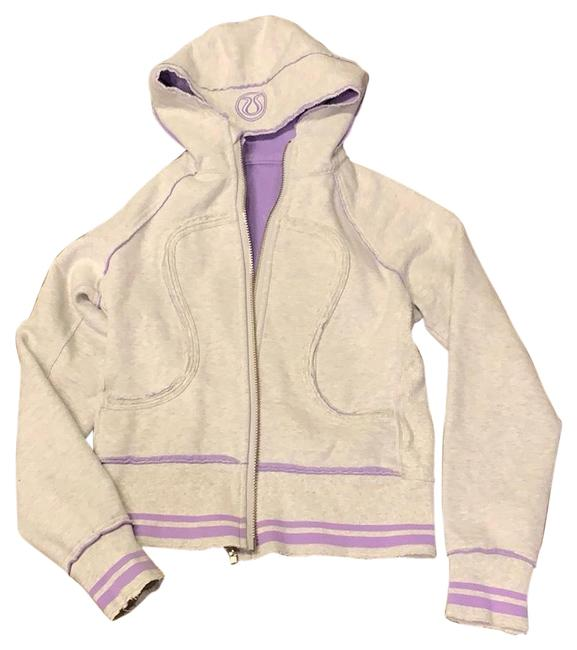 Preload https://img-static.tradesy.com/item/25932039/lululemon-light-gray-and-purple-hooded-activewear-outerwear-size-6-s-0-1-650-650.jpg