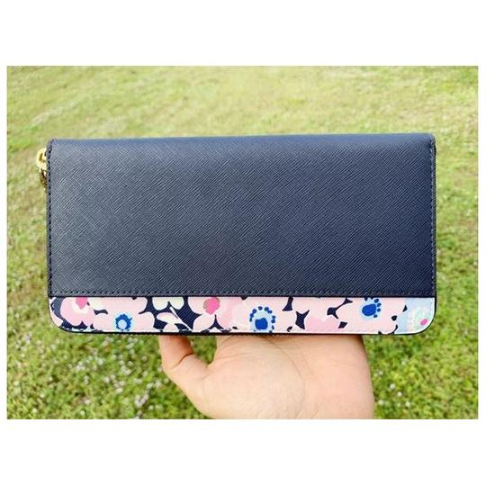 Kate Spade Kate Spade Cameron Street Lacey Large Zip Around Wallet Floral Multi Image 4