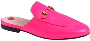Gucci neon pink with tag Mules