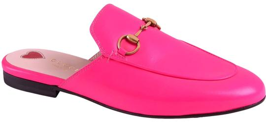 Preload https://img-static.tradesy.com/item/25932071/gucci-neon-pink-with-tag-princetown-leather-slippers-mulesslides-size-eu-39-approx-us-9-regular-m-b-0-1-540-540.jpg