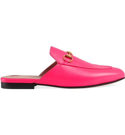 Gucci neon pink with tag Mules Image 4