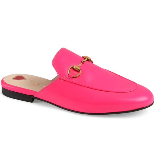 Gucci neon pink with tag Mules Image 1