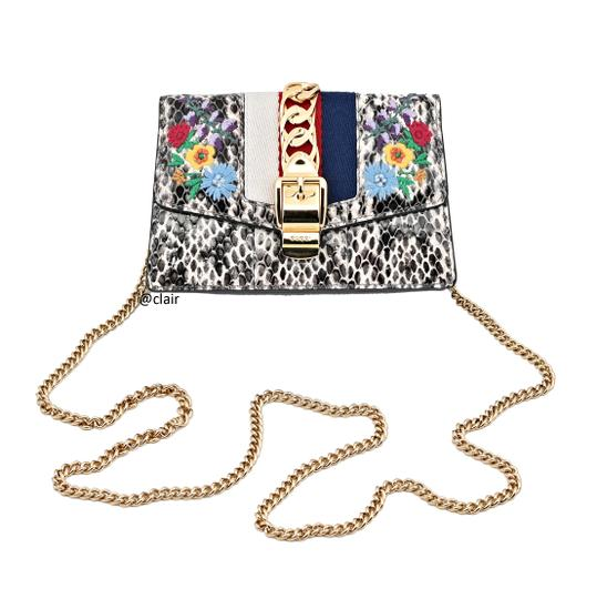 Gucci Leather Cross Body Bag Image 1