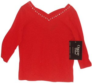 Onque Casuals Top Red