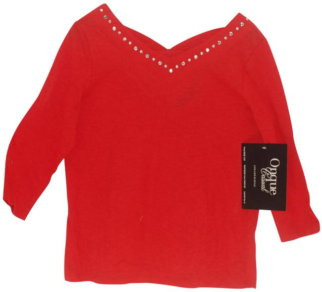 Preload https://img-static.tradesy.com/item/25932104/onque-casuals-red-style-4234105-1-blouse-size-10-m-0-1-650-650.jpg