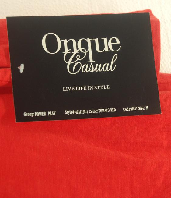 Onque Casuals Top Red Image 2