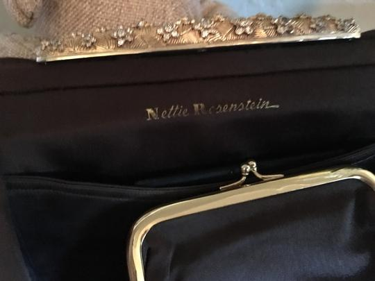 Nettie Rosenstein Brown Clutch Image 4