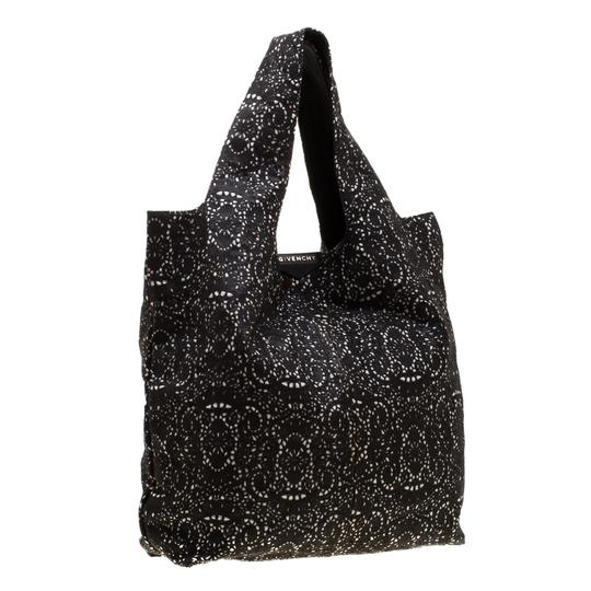 Givenchy Leather Lace Tote in Black Image 1