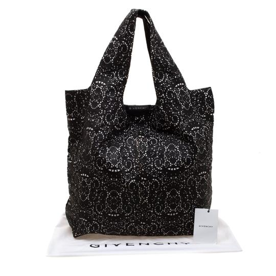 Givenchy Leather Lace Tote in Black Image 11
