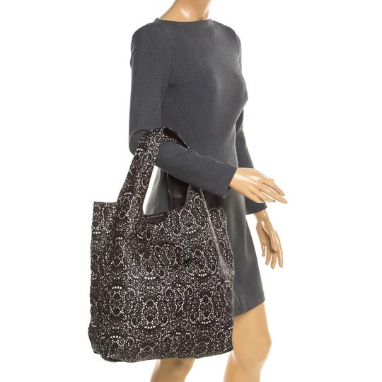 Givenchy Leather Lace Tote in Black Image 2
