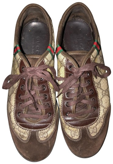 Preload https://img-static.tradesy.com/item/25932129/gucci-brown-gg-lace-up-trainer-mens-sneakers-size-us-75-regular-m-b-0-1-540-540.jpg