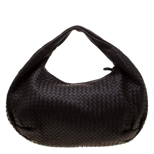 Bottega Veneta Leather Suede Hobo Bag Image 1