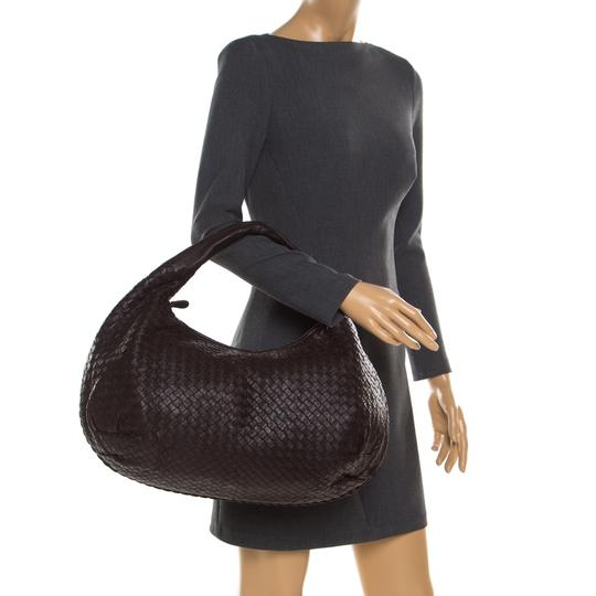 Bottega Veneta Leather Suede Hobo Bag Image 2