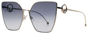 Fendi NEW Fendi FF0323S 0323S F is Fendi Metal Oversized Cat Eye Sunglasses