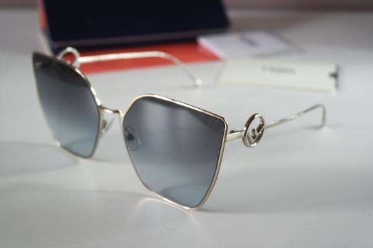 Fendi NEW Fendi FF0323S 0323S F is Fendi Metal Oversized Cat Eye Sunglasses Image 1