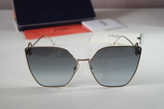 Fendi NEW Fendi FF0323S 0323S F is Fendi Metal Oversized Cat Eye Sunglasses Image 2