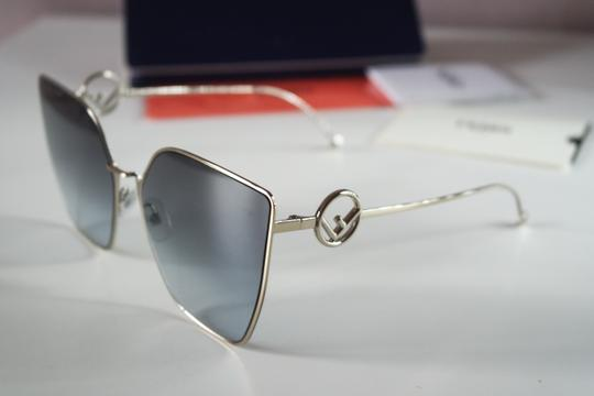 Fendi NEW Fendi FF0323S 0323S F is Fendi Metal Oversized Cat Eye Sunglasses Image 4