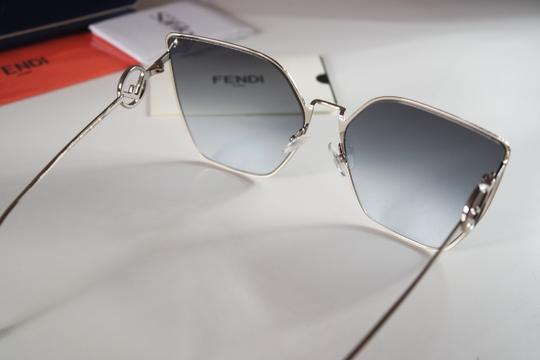 Fendi NEW Fendi FF0323S 0323S F is Fendi Metal Oversized Cat Eye Sunglasses Image 8