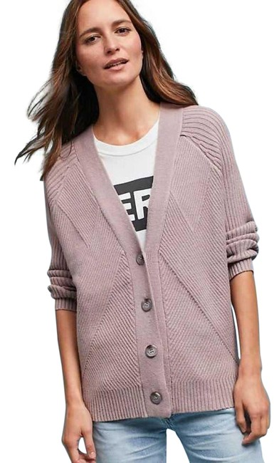 Item - Blush Dra Ribbed Button-up Cardigan Size Petite 2 (XS)