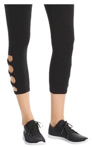 Andrew Marc Marc NY Performance Cotton Cutout Leggings-NWT