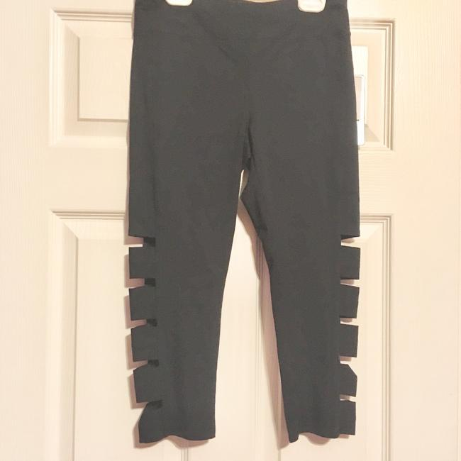 Andrew Marc Marc NY Performance Cotton Cutout Leggings-NWT Image 1