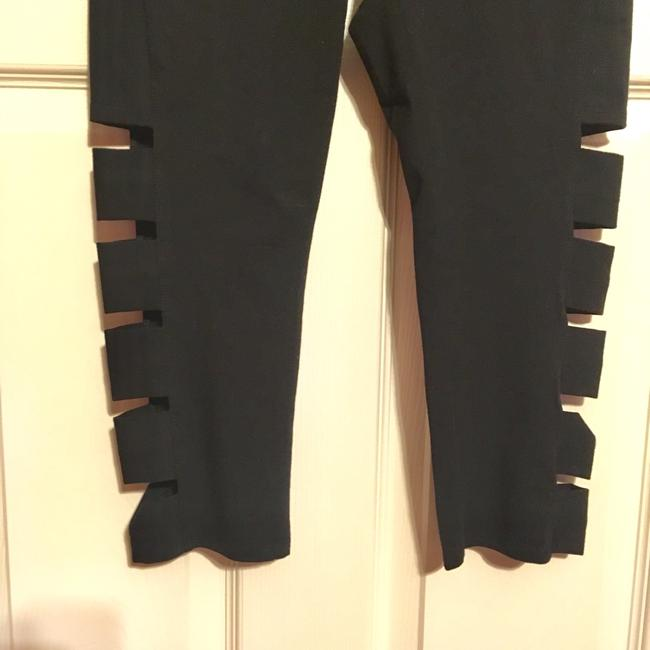 Andrew Marc Marc NY Performance Cotton Cutout Leggings-NWT Image 3