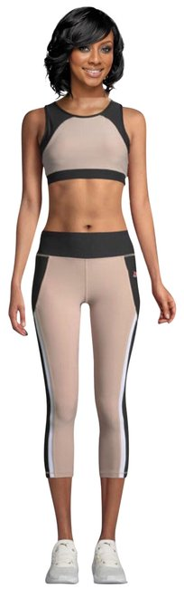 Preload https://img-static.tradesy.com/item/25932214/gottex-tan-and-black-x-by-studio-capri-activewear-bottoms-size-14-l-0-1-650-650.jpg