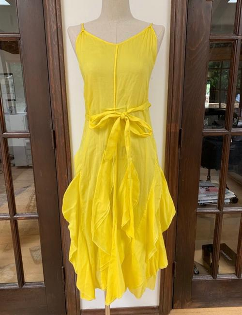 yellow Maxi Dress by Sonia Rykiel Image 1