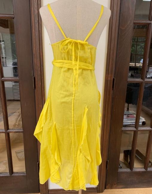 yellow Maxi Dress by Sonia Rykiel Image 3