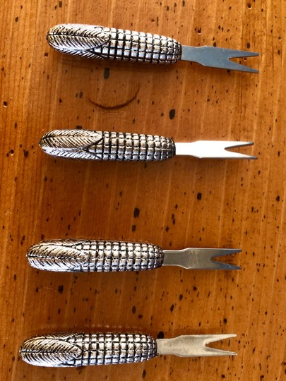 Pottery Barn Corn-cob shaped Corn Picks Set by POTTERY BARN Image 2