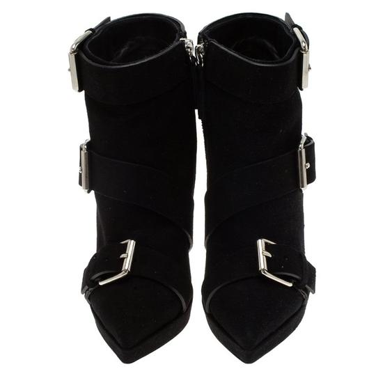 Giuseppe Zanotti Suede Leather Ankle Black Boots Image 2