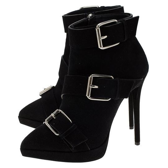 Giuseppe Zanotti Suede Leather Ankle Black Boots Image 3
