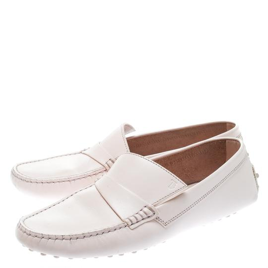 Tod's Leather Rubber Pink Flats Image 3