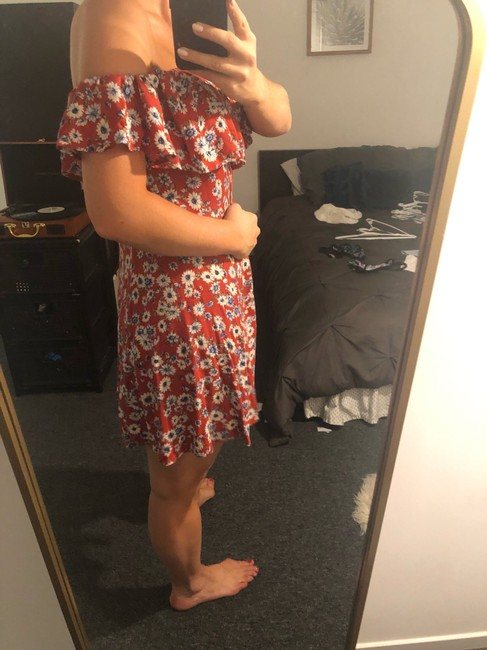 Forever 21 short dress red on Tradesy Image 1