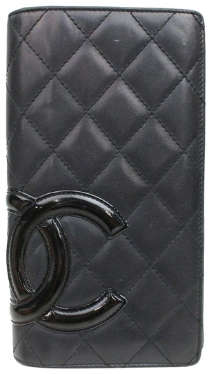Preload https://img-static.tradesy.com/item/25932401/chanel-black-cambon-quilted-lambskin-ligne-long-bifold-flap-yen-871256-wallet-0-1-540-540.jpg