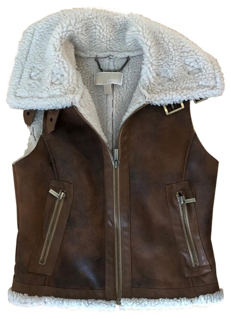 Preload https://img-static.tradesy.com/item/25932424/michael-kors-brown-tan-suede-and-wool-aviator-vest-size-4-s-0-1-650-650.jpg