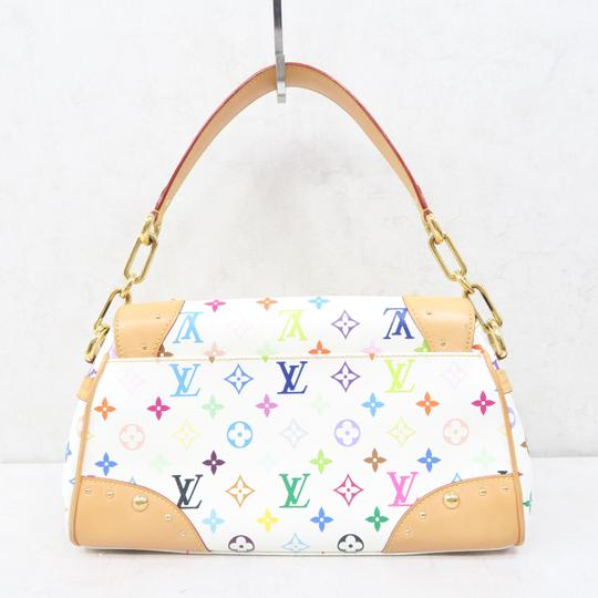 Louis Vuitton Lv Marilyn Multicolor Canvas Tote in White Image 2